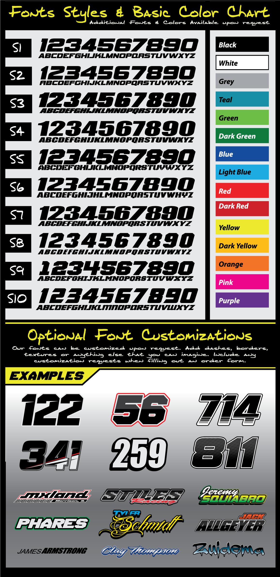 Suzuki Remix Pre Printed Backgrounds Fammx Design