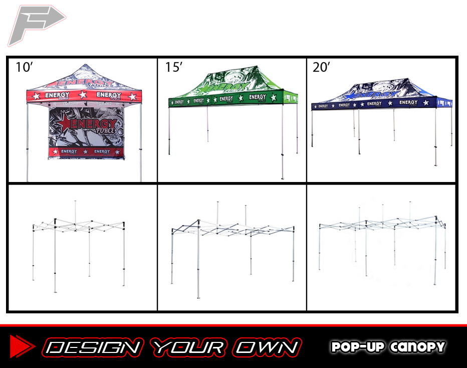 Banner and Stands_Pop-up Canopy_DesignYourOwn_1