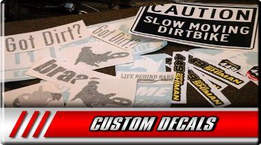 Order Custom Decals