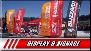 We make custom displays and signage