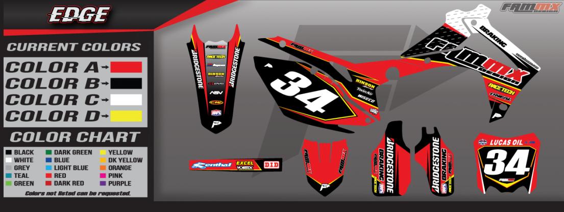 Honda Edge Graphics ⋆ Fammx Design