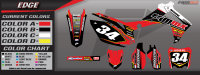 FAMmx-Design-Edge-Honda-[Semi-Custom-Motocross-Graphics-Display]