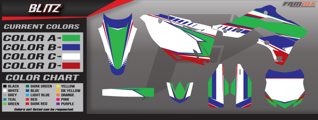 Kawasaki Blitz Graphics
