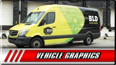 We Design and Install Custom Vehicle Graphics