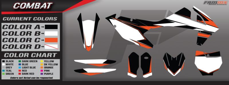 KTM Semi Custom Graphic Kits ⋆ FAMmx Design